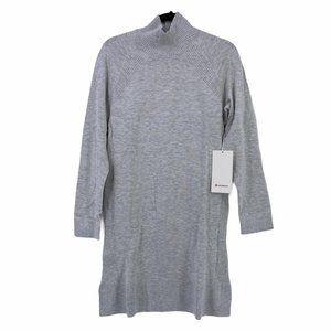 Lululemon Keep It Cozy Knit High Neck Dress